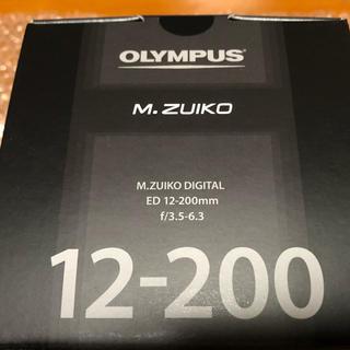 OLYMPUS - オリンパス 12-200mm M.ZUIKOズームレンズ(未開封)