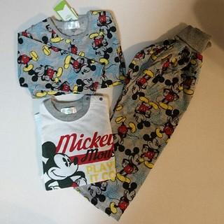ディズニー(Disney)の新品・未使用品★ ミッキー  ★ パジャマ 100(パジャマ)