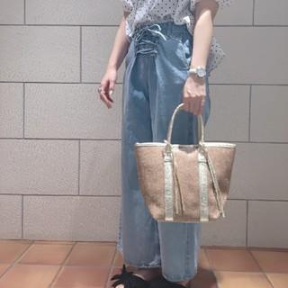 ナチュラルクチュール(natural couture)の新品 レースアップデニム(デニム/ジーンズ)
