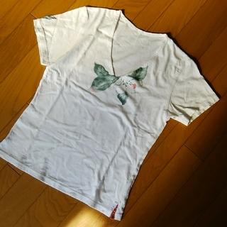 フォーティーファイブアールピーエム(45rpm)のパラスパレスハイビスカスシャツ2(Tシャツ(半袖/袖なし))