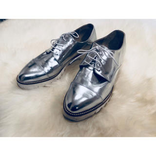 ジャーナルスタンダード(JOURNAL STANDARD)のorciani シルバー オックスフォードシューズ(ローファー/革靴)