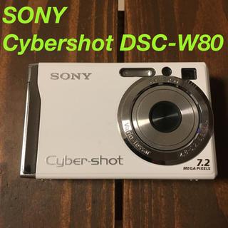 SONY - ソニー サイバーショット デジカメ DSC-W80 デジタルカメラ