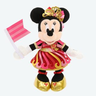 Disney - 新品タグ付♡ ポージープラッシー  ミニー 35周年
