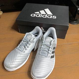 アディダス(adidas)のadidasテニスシューズBARRICADE CODE COURT 27.5(シューズ)
