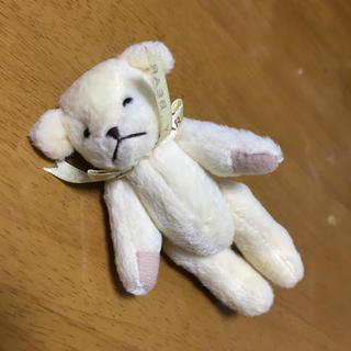 熊ちゃん ぬいぐるみ マスコット ストラップ(ストラップ)