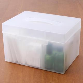 ムジルシリョウヒン(MUJI (無印良品))の無印良品 救急箱(CD/DVD収納)