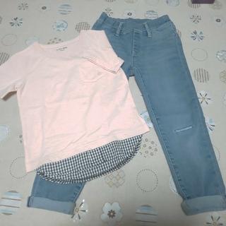 【キッズ110cm】Tシャツ&ズボン/セット販売(その他)