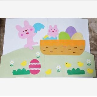 保育壁面 壁面飾り 春 新学期(型紙/パターン)