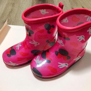 ミニーちゃん14cm(長靴/レインシューズ)