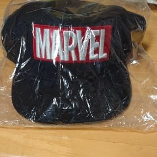 マーベル(MARVEL)の新品未使用 お買い得!MARVEL キャップ 54~57cmブラック(帽子)