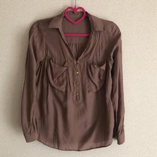 スピックアンドスパン(Spick and Span)のspick&span 柔らか着心地のシャツ(シャツ/ブラウス(長袖/七分))
