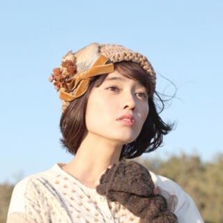 カシラ(CA4LA)のm.soeur ニット帽(ニット帽/ビーニー)