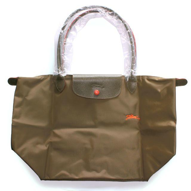 f59d224ba294 LONGCHAMP(ロンシャン)のロンシャン クラブ トートバッグL カーキ 新品 レディースのバッグ(