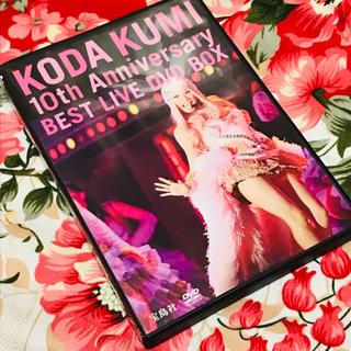 タカラジマシャ(宝島社)の★倖田來未★10th Anniversary BEST LIVE DVD BOX(ミュージック)