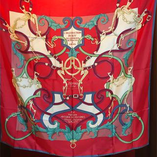 エルメス(Hermes)の美品 HERMES カレ スカーフ 140㎝×140㎝(バンダナ/スカーフ)