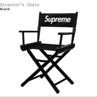 19ss week4、Director's Chair Black(折り畳みイス)