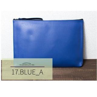 色:ブルーA◇送料無料 新品◇2way ショルダーバッグ クラッチバッグ◇(クラッチバッグ)