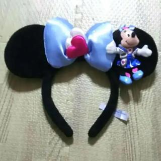 ディズニー(Disney)の中古 ディズニーカチューシャ ミニー 耳(カチューシャ)