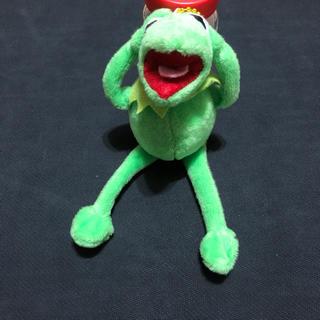 Disney - Muppets カーミット マスコットぬいぐるみ