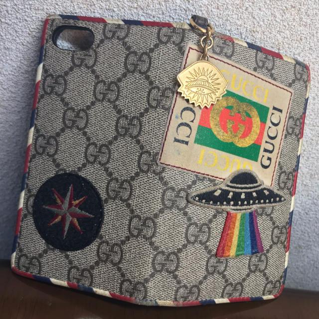 moschino iphone8 ケース 激安 | Gucci - GUCCI iPhone7ケース (手帳型)の通販 by Futsal|グッチならラクマ