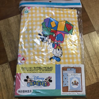 ディズニー(Disney)の新品 ディズニー ベビーラップ式シーツ(ゴム付)(シーツ/カバー)