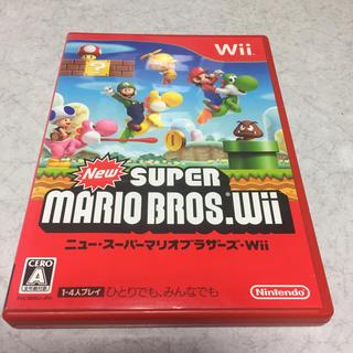 Wii - Wii ソフト ニュースーパーマリオブラザーズ