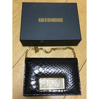 アッシュアンドダイアモンド(ASH&DIAMONDS)の未使用品 アッシュ&ダイヤモンド マルチケース(ポーチ)
