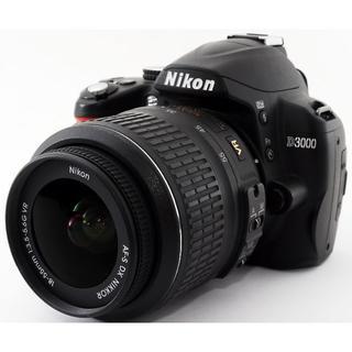 Nikon - ❤️スマホ転送OK♪❤️手振れ補正付き❤️Nikon D3000 レンズキット