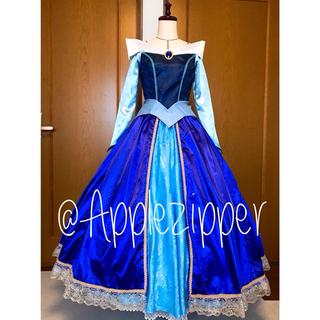 オーロラ姫 ブルードレス ディズニープリンセス 仮装 衣装 パープル(衣装一式)