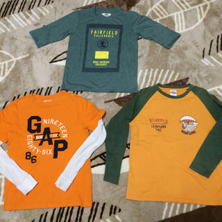 イッカ(ikka)の男の子150 長袖5枚セット ikkaGAP(Tシャツ/カットソー)