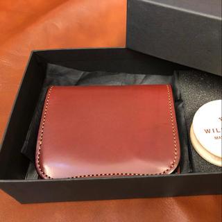 ガンゾ(GANZO)のワイルドスワンズ  パーム 廃盤色 バーガンディ 美品(折り財布)