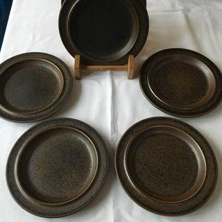 アラビア(ARABIA)の5枚セット アラビア ルスカ 20㎝プレート 北欧雑貨(食器)