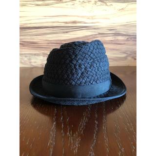 オーバーライド(override)のoverride オーバーライド 帽子 ハット ブラック 58cm(ハット)