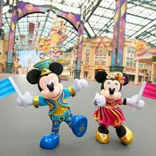 Disney - ディズニー35周年 ポージープラッシーset♪