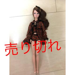 バービー(Barbie)のバービー ファッションモデルコレクション ランジェリー赤(ぬいぐるみ/人形)