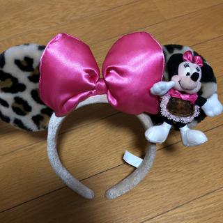ディズニー(Disney)のミニー カチューシャ レオパード(カチューシャ)