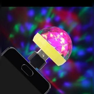 USBミラーボール Apple携帯アダプター付き(車内アクセサリ)