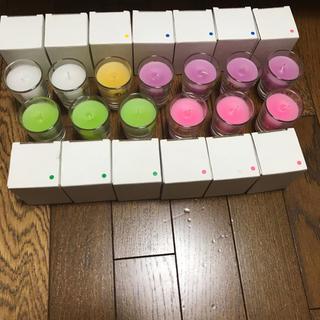 ☆送料込み&新品☆ノベルティアロマキャンドル 13個セット(キャンドル)