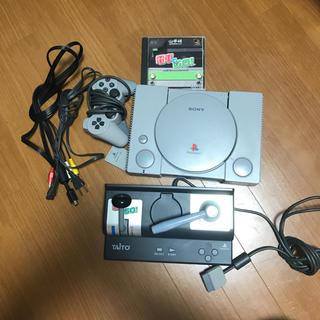 プレイステーション(PlayStation)の初代プレステ本体 & 電車でGO(家庭用ゲーム本体)