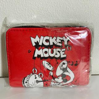 ディズニー(Disney)の【新品】ディズニー ミッキー 二つ折り 財布(財布)