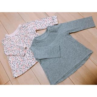 はる様専用❤️ベビー服 ロンT 花柄パンツ❤️(Tシャツ)