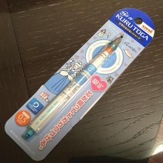 ディズニー(Disney)の新品☆uni クルトガ 0.5㎜ ディズニープリンセス☆三菱鉛筆 シャーペン(ペン/マーカー)