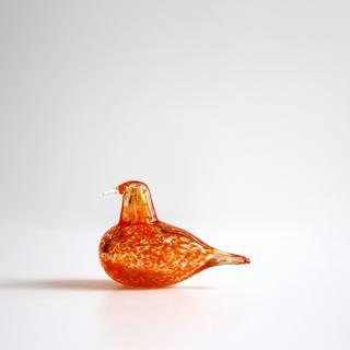 iittala - Oiva Toikka イッタラ  バード オレンジ