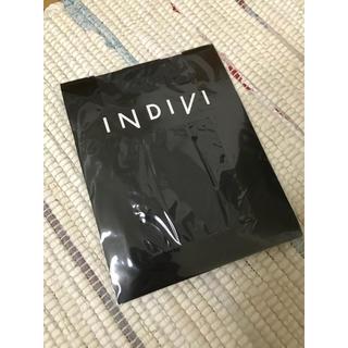 インディヴィ(INDIVI)のINDIVI グレー60デニールタイツ(タイツ/ストッキング)