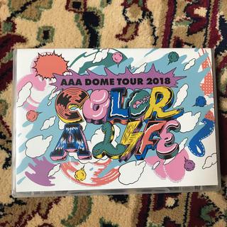 トリプルエー(AAA)のAAA CAL color a life DVD(ミュージシャン)