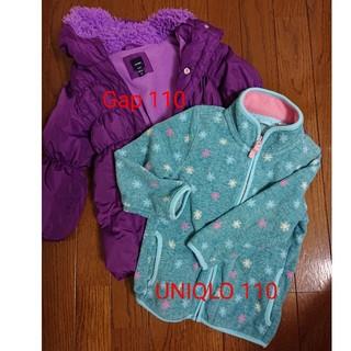 3d59ee4e0373d ベビーギャップ(babyGAP)のGap UNIQLO 女児冬物アウター2点 110cm(コート)