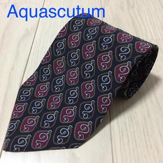 アクアスキュータム(AQUA SCUTUM)の【底辺価格】Aquascutum アクアスキュータム シルクネクタイ(ネクタイ)