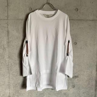 サンシー(SUNSEA)のsunsea 19ss HIMURON-T White(Tシャツ/カットソー(七分/長袖))