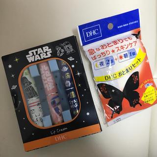 ディーエイチシー(DHC)の☆おまけ付き DHC薬用リップクリーム スター・ウォーズコラボセット 3本セット(リップケア/リップクリーム)