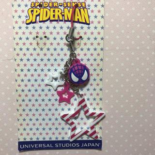 ユニバーサルスタジオジャパン(USJ)のスパイダーマン♡ストラップ(ストラップ)